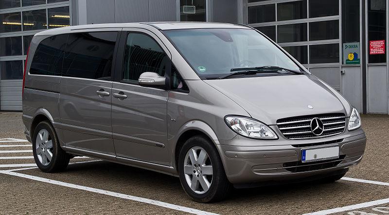 Mercedes vito er den nye varebil